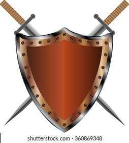 The shield and two swords