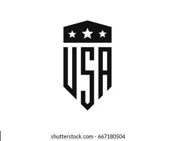 Shield USA, logo design