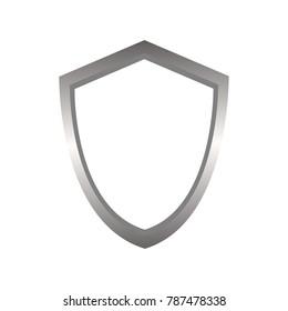 Shield vector logo. shield icon