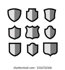 Shields illustration set