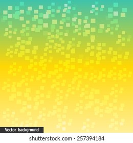 Shine vector abstract background, web backdrop with small glowing cubes, trendy design