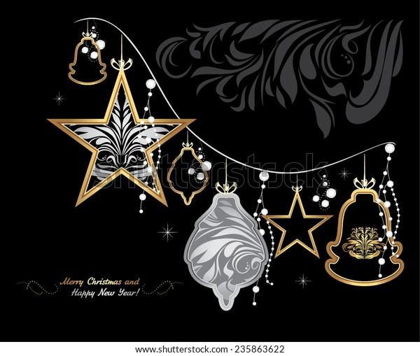 shining-christmas-garland-on-black-600w-