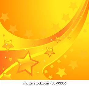 shining stars background. Design vector