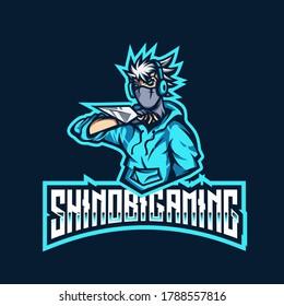 Shinobi Gaming Esport Logo Template