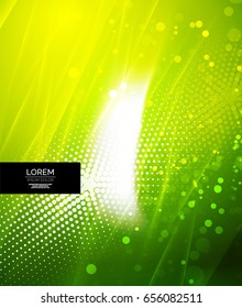 Shiny glittering vector abstract background