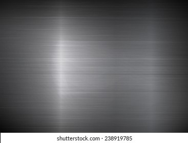 Shiny metal texture background, rectangle style. A vector illustration.
