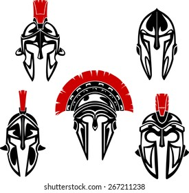 Shiny Roman or Spartan Helmet Armor Set