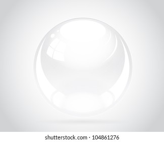 Shiny Silver Ball