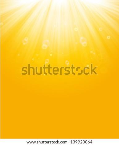 a15cf53e85580 shiny sun beams, summer background. yellow & orange sunburst background