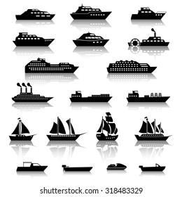 Ship Boat Icons