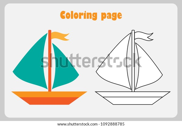 dhow boat coloring page - Clip Art Library | 420x600