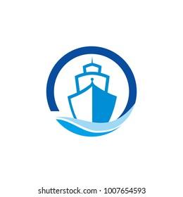 Ship Logo Illustration