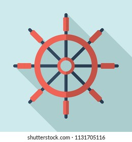 Ship rudder. Ship steering