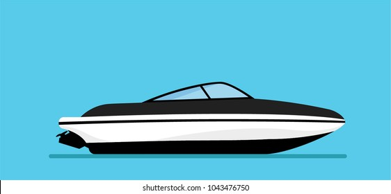 Luxury Modern Yacht Stock Vectors, Images & Vector Art