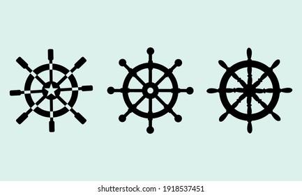 Ship Wheel Vector And Clip Art