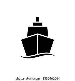 Shipping icon vector logo template