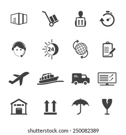 Shipping and Logistics Icons