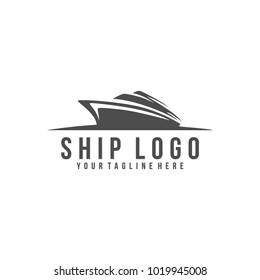 Shipping logo vector