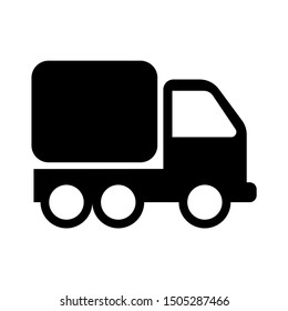 shipping truck icon - From Transportation, Logistics and Machines icons set