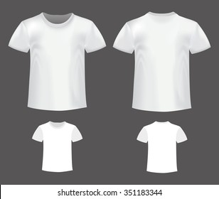 Shirt front and back