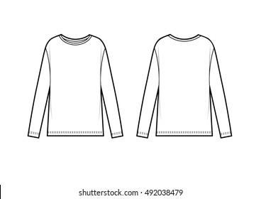 shirt sketch