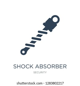 shock absorber icon vector on white background, shock absorber trendy filled icons from Security collection, shock absorber vector illustration
