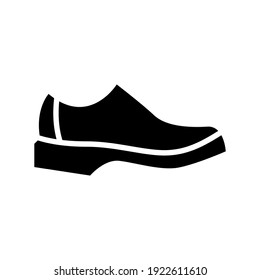 shoe icon or logo isolated sign symbol vector illustration - high quality black style vector icons