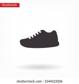 shoe icon . Vector Eps 10 . Lorem Ipsum Flat Design