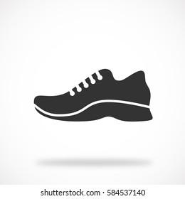 shoe icon . Vector Eps 10