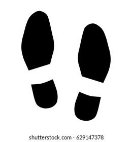 Shoe prints icon