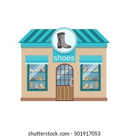 Shoe Shop Commercial Building Facade Design