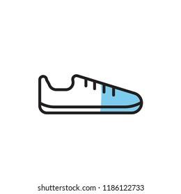 shoes icon vector. modern icon design