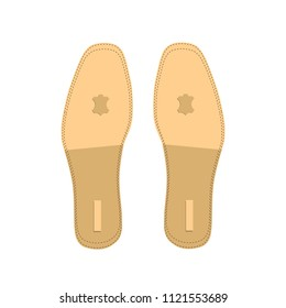 shoes insole. vector