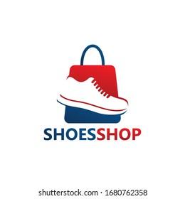 Shoes Shop Logo Template Design