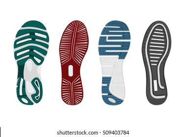 shoes sole. vector