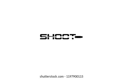 SHOOT LOGO WITH NEGATIVE SPACE EFFECT FOR LOGO DESIGN OR ILLUSTRATION USE