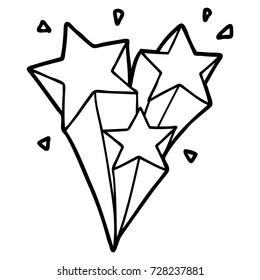 shooting stars cartoon