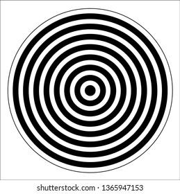 Shooting target vector background