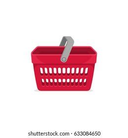 Shop Basket Store Vector Sign