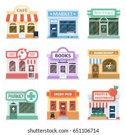 Shopfront Images, Stock Photos & Vectors   Shutterstock