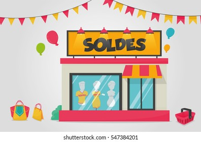 Shop with sales