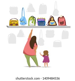 Mother Daughter Packing Images, Stock Photos & Vectors
