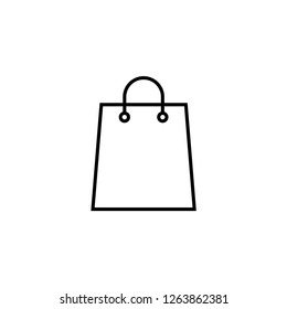 shoping bag icon template
