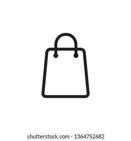 Shopping bag icon ,retail vector