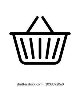 Shopping basket for goods