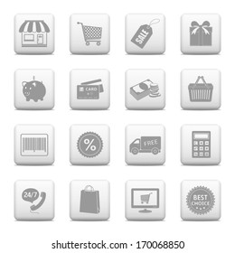 Shopping buttons for website & on-line store