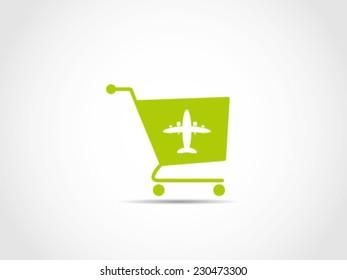 Shopping Cart Airplane