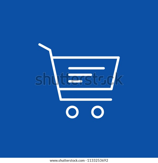 Shopping Cart Buy Shop Market Basket Stock Vector (Royalty