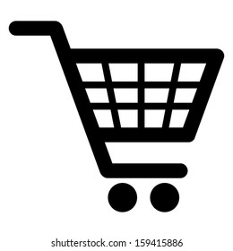 Shopping cart icon (Vector)