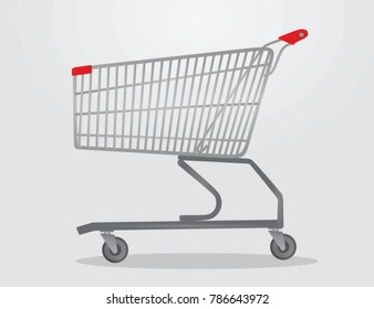 Shopping cart. vector illustration
